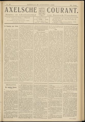 Axelsche Courant 1933-08-29