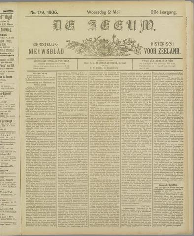 De Zeeuw. Christelijk-historisch nieuwsblad voor Zeeland 1906-05-02