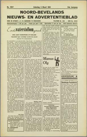 Noord-Bevelands Nieuws- en advertentieblad 1951-03-03
