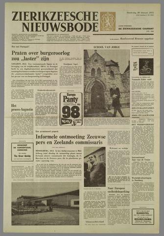 Zierikzeesche Nieuwsbode 1975-02-20