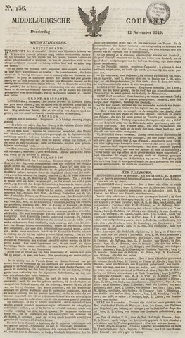 Middelburgsche Courant 1829-11-12