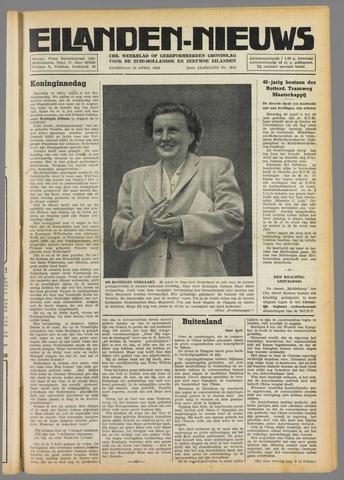 Eilanden-nieuws. Christelijk streekblad op gereformeerde grondslag 1949-04-30