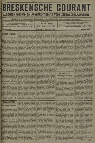 Breskensche Courant 1921-08-27