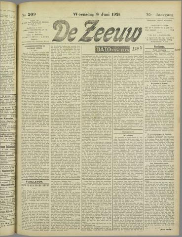 De Zeeuw. Christelijk-historisch nieuwsblad voor Zeeland 1921-06-08