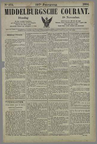 Middelburgsche Courant 1884-11-18