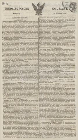 Middelburgsche Courant 1829-01-20