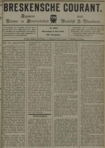 Breskensche Courant 1914-07-08
