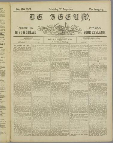 De Zeeuw. Christelijk-historisch nieuwsblad voor Zeeland 1901-08-17