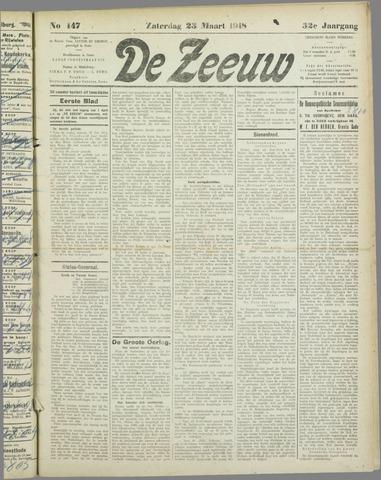 De Zeeuw. Christelijk-historisch nieuwsblad voor Zeeland 1918-03-23