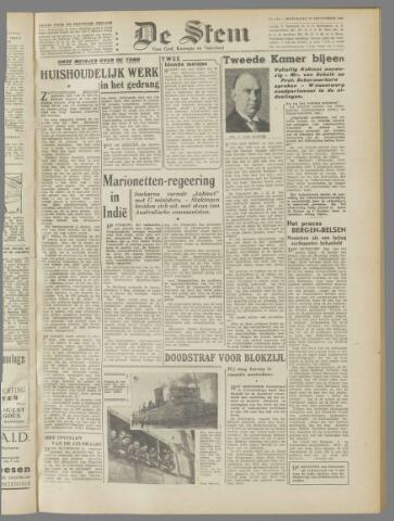de Stem 1945-09-26