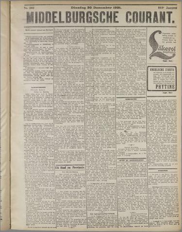 Middelburgsche Courant 1921-12-20