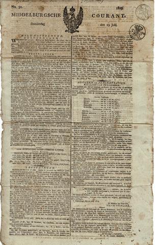 Middelburgsche Courant 1819