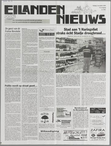 Eilanden-nieuws. Christelijk streekblad op gereformeerde grondslag 2000-12-01