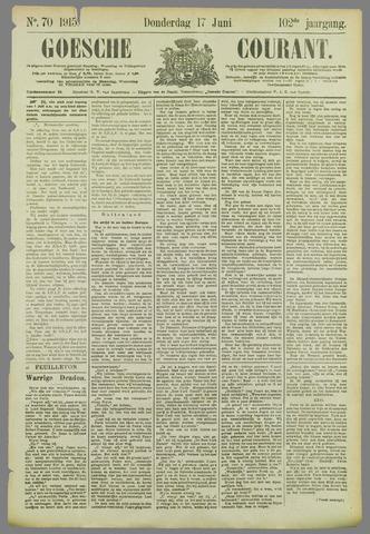 Goessche Courant 1915-06-17