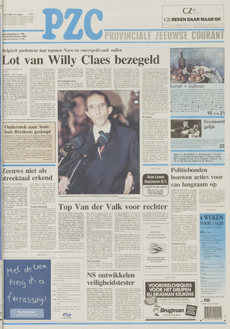Provinciale Zeeuwse Courant 1995-10-20