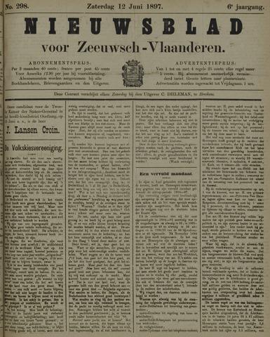 Nieuwsblad voor Zeeuwsch-Vlaanderen 1897-06-12