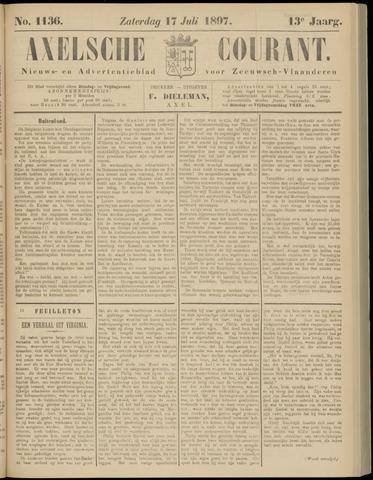 Axelsche Courant 1897-07-17