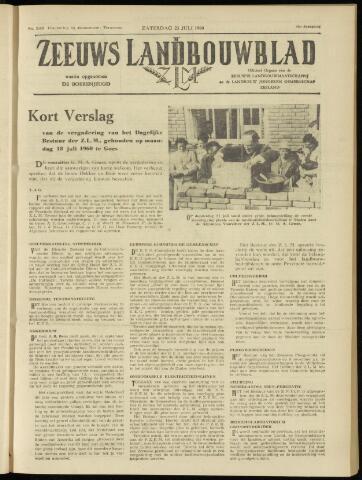 Zeeuwsch landbouwblad ... ZLM land- en tuinbouwblad 1960-07-23