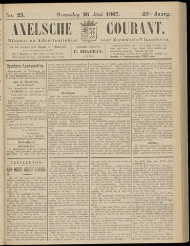 Axelsche Courant 1907-06-26