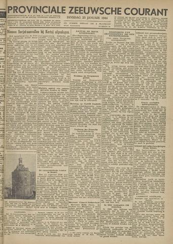 Provinciale Zeeuwse Courant 1944-01-25