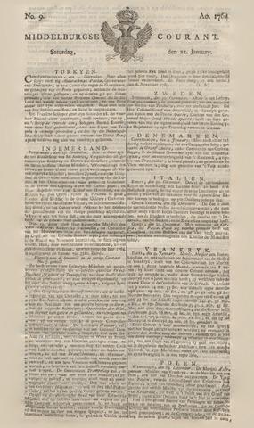 Middelburgsche Courant 1764-01-21