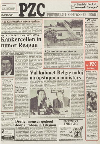Provinciale Zeeuwse Courant 1985-07-16