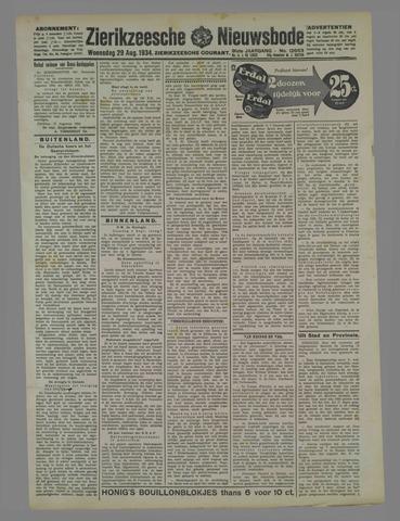 Zierikzeesche Nieuwsbode 1934-08-29