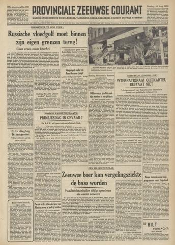 Provinciale Zeeuwse Courant 1952-08-26