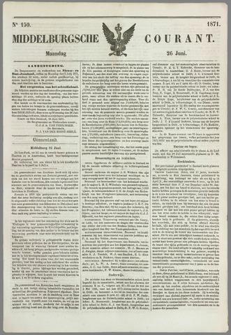 Middelburgsche Courant 1871-06-26
