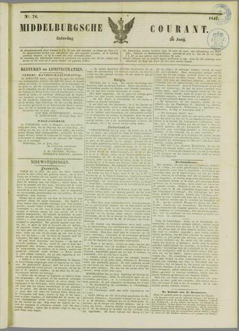 Middelburgsche Courant 1847-06-26