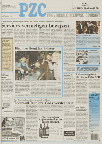 Provinciale Zeeuwse Courant 1995-11-17