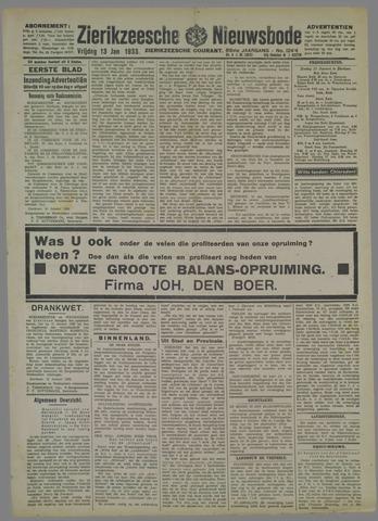 Zierikzeesche Nieuwsbode 1933-01-13
