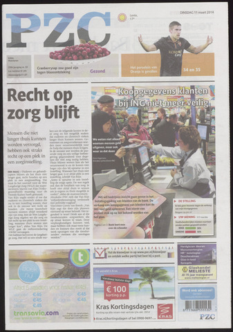 Provinciale Zeeuwse Courant 2014-03-11