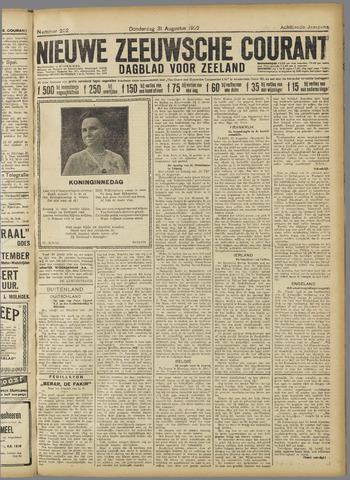 Nieuwe Zeeuwsche Courant 1922-08-31