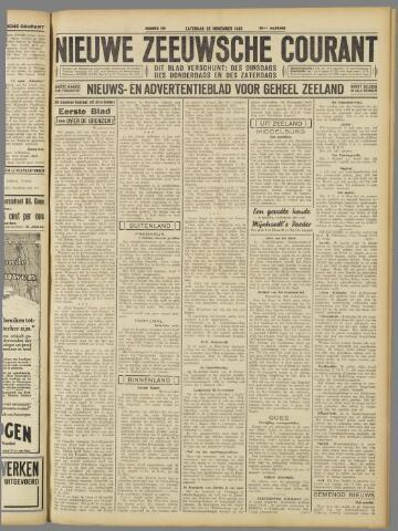 Nieuwe Zeeuwsche Courant 1933-11-25