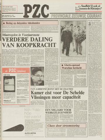 Provinciale Zeeuwse Courant 1983-04-20