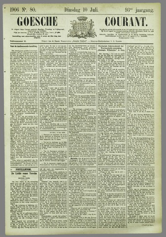 Goessche Courant 1906-07-10