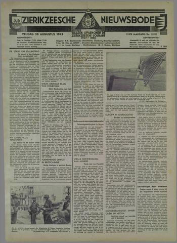 Zierikzeesche Nieuwsbode 1942-08-28