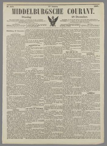 Middelburgsche Courant 1897-12-28