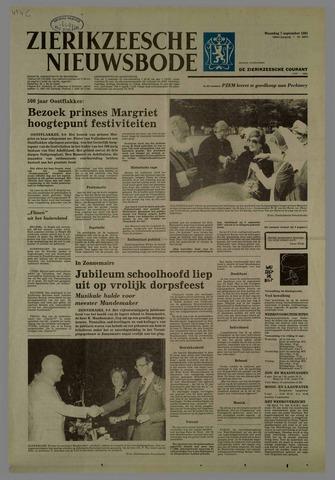 Zierikzeesche Nieuwsbode 1981-09-07