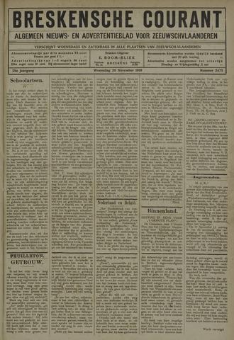 Breskensche Courant 1919-11-26