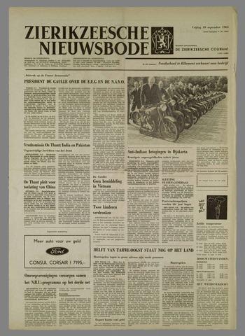 Zierikzeesche Nieuwsbode 1965-09-10