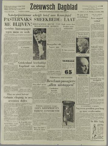 Zeeuwsch Dagblad 1958-11-03