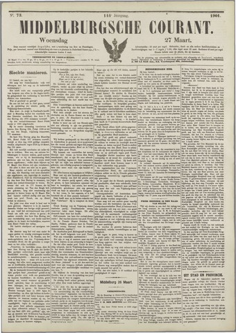 Middelburgsche Courant 1901-03-27