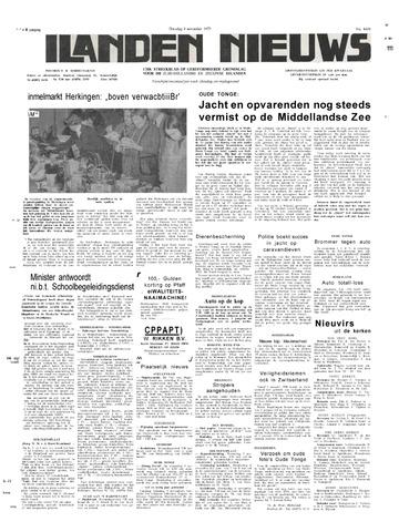 Eilanden-nieuws. Christelijk streekblad op gereformeerde grondslag 1975-11-04