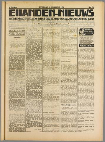 Eilanden-nieuws. Christelijk streekblad op gereformeerde grondslag 1936-08-22