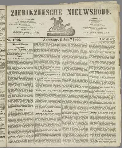 Zierikzeesche Nieuwsbode 1860-06-02