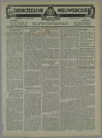 Zierikzeesche Nieuwsbode 1941-05-17