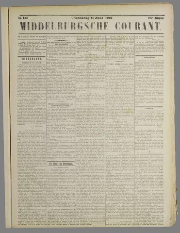 Middelburgsche Courant 1919-06-11
