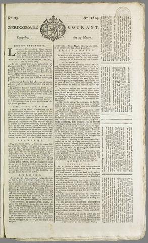 Zierikzeesche Courant 1814-03-29